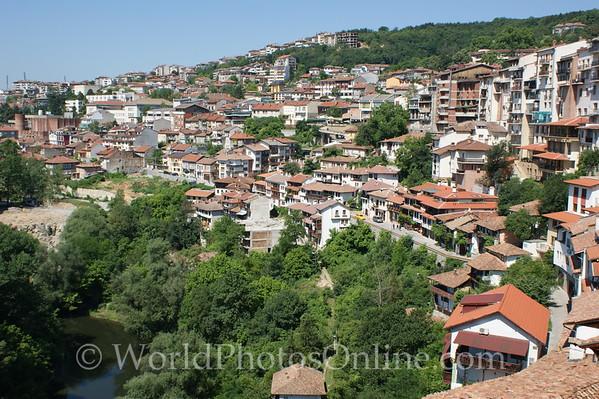 Veliko Tarnovo - View of town