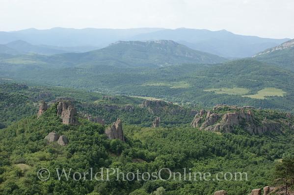 Vidin - Belogradchik Castle - View of Surrounding Countryside 3