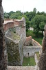 Vidin - Baba Vida Fortress - Battlements view from Keep