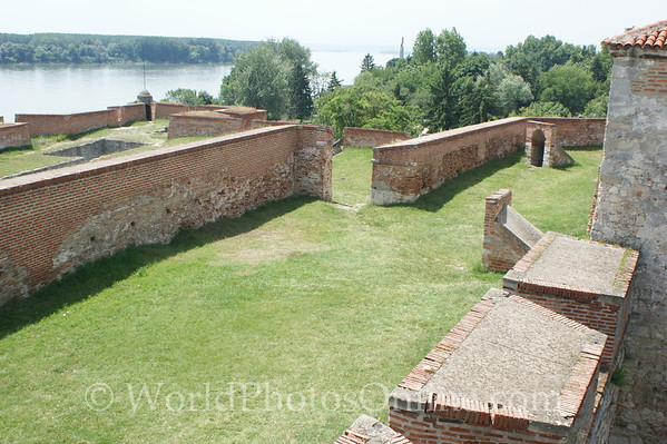 Vidin - Baba Vida Fortress - Upper Courtyard