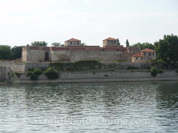 Vidin - Baba Vida Fortress from Danube