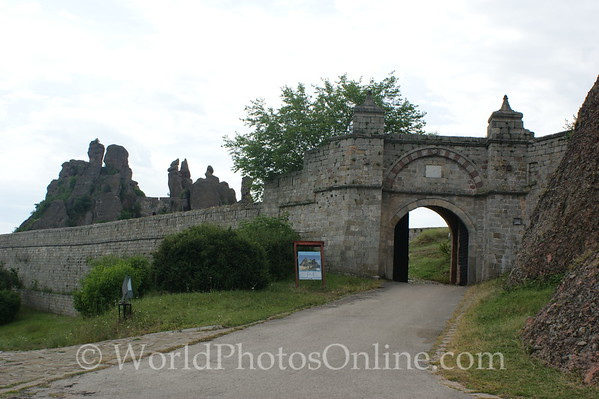 Vidin - Belogradchik Castle - Entry Gate 1