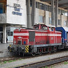 52204 at Sofia shunting Greek coaching stock.