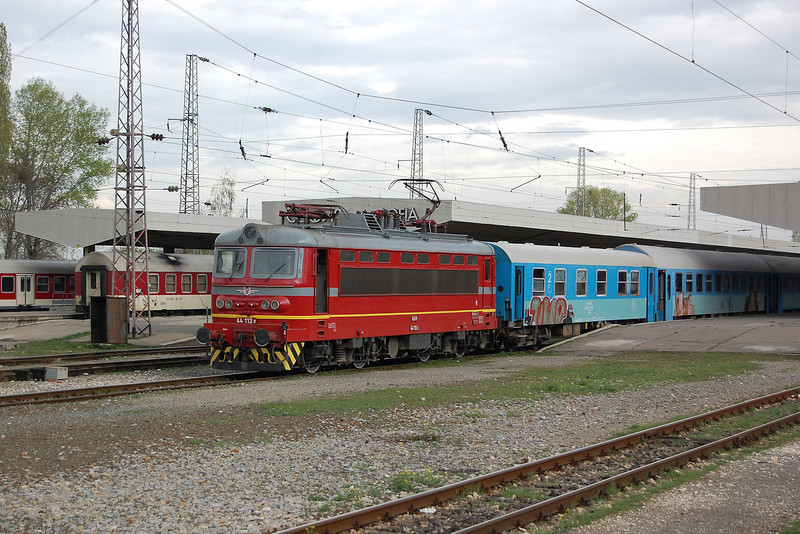44113 leaving Sofia.
