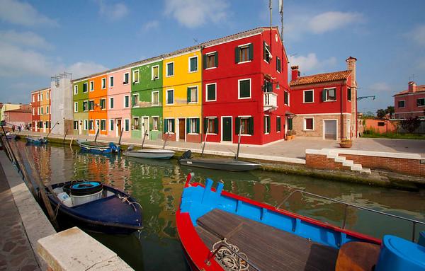 Burano-Venice, Napoli, Foggia and Capri Island, Italy