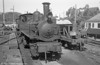 CP 0-4-4-0T E165 at Livração. The locos were retained in full working order to assist with additional trains during the religious festival week and at harvest time.