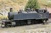 Henschel 2-4-6-0T no. E214 at Regua. The 'E' prefix denotes a narrow gauge loco.