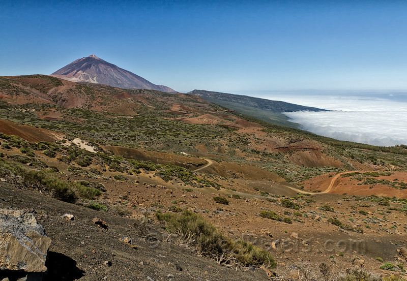 Approach to Mount Teide