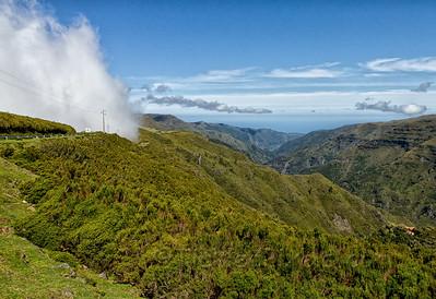 Encroaching Fog, Encumeada Pass