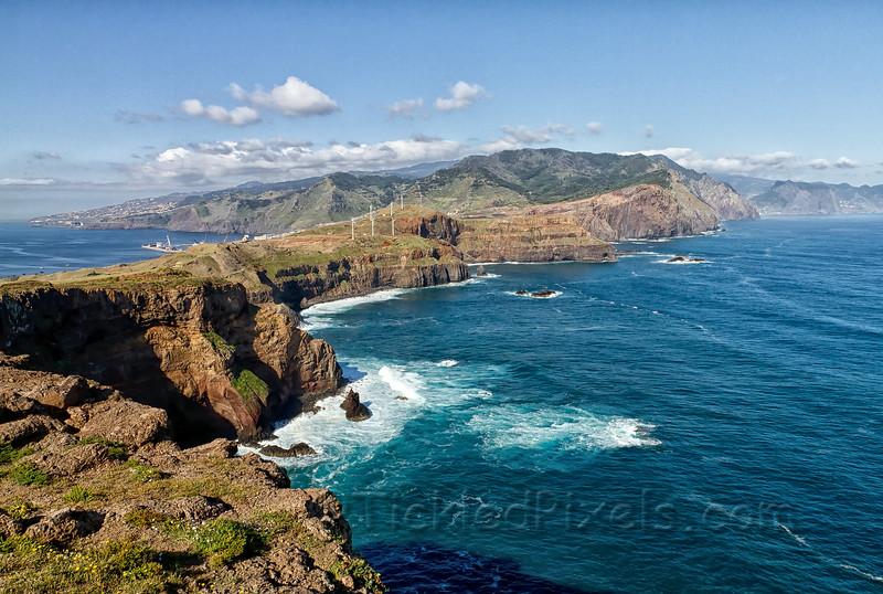 Looking West from Ponta de São Lourenço