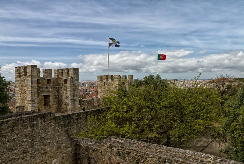 Atop Castelo de São Jorge