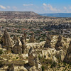 The fairy chimneys of Goreme