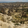 Hitting the road in Goreme and making a quick stop to take in the view along the way