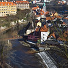 Vltava River and the castle