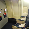 My seat on the flight over in Delta's new Economy Comfort cabin