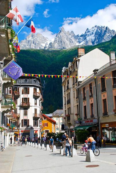 Downtown Chamonix