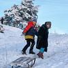 EU 285 - Belarus, Winter in Nowa Mysz village