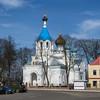 EU 258 - Belarus, Postawy town, Orthodox church