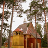 EU 291 - Belarus, Catholic church in Nowa Ruda village