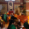 EU 259 - Belarus, Postawy town, Catholic church