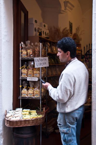 Market, Rio Maggiore, Cinque Terre, Italy