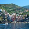 Arriving at Riomaggiore