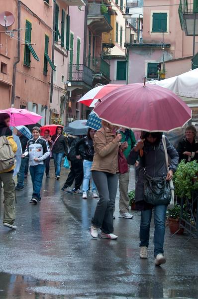 Rainy Day, Rio Maggiore, Cinque Terre, Italy