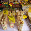 Bamberg Germany, Asparagus in Market