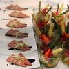 Viking River Cruise, Pate & Fresh Asparagus Appetizer