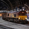 66069 at York during the early hours of the 2nd May 2011.