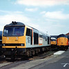 60050 at Doncaster Works.