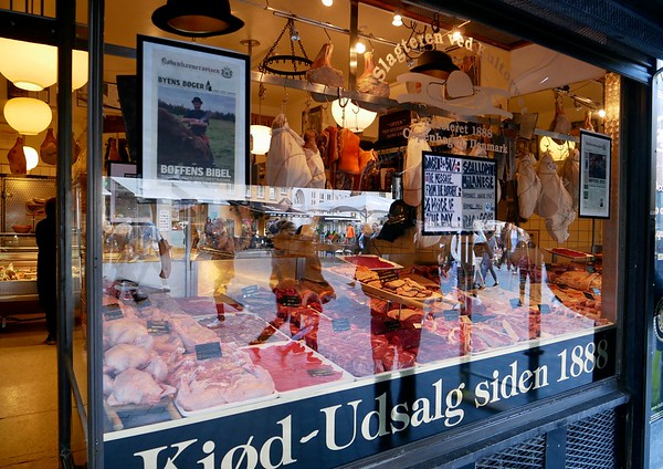 Slagteren ved Kultorvet, family owned organic butcher shop dating back to 1888.