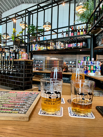 First stop: Mikkeller's new airport location