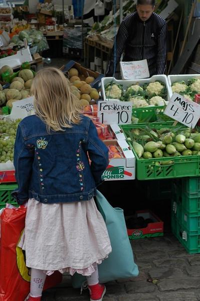 Market - Copenhagen, Denmark