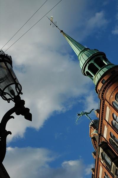 Rooftop Art - Downtown Copenhagen, Denmark