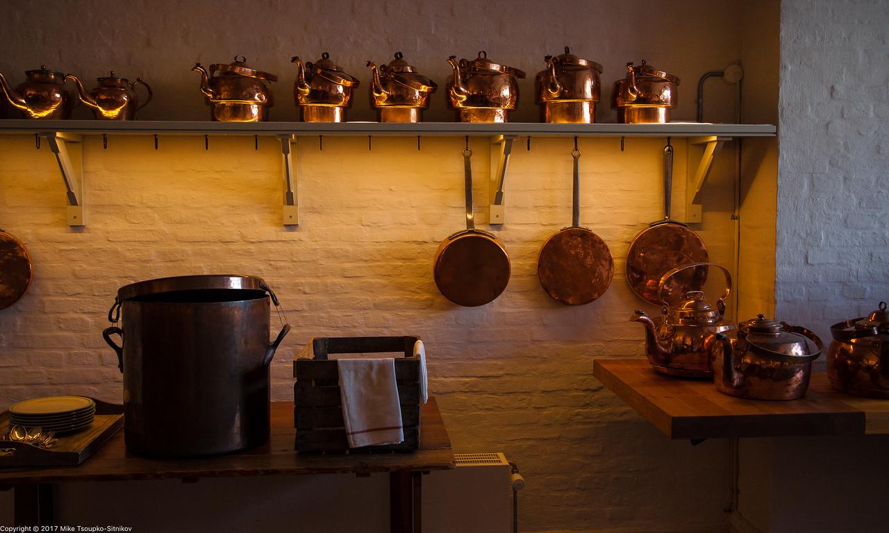 Royal Kitchen, Christiansborg Palace, Copenhagen