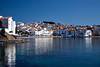 Spectacular view and reflections of homes in Cadaqués, Catalonia, Spain