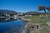 Port Lligat Area looking across water at Dali's home, Costa Brava, Spain