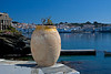 Pot with a spectacular view of Cadaques, Catalonia, Spain