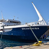 Day 3 and we're off to Gramvousa & Balos. This was our boat for the day.
