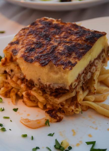 And my favorite Greek dish, pastitsio