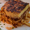And my favorite Greek dish, pastitsio