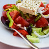 First Greek salad of the trip....yum!
