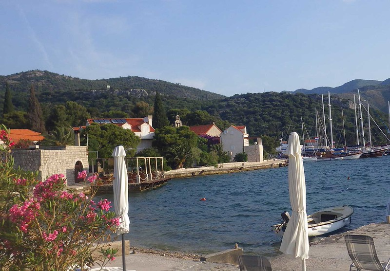 Our final night was at Zaton Bay, a small village away from the noise and bustle of Dubrovnik.  We stayed at small guest houses run by local families.