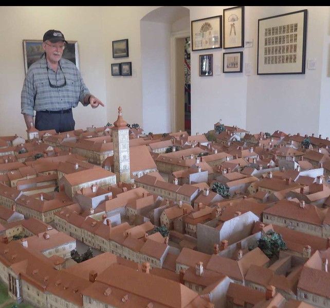 Zagreb has an excellent city museum that includes this model of  the city  in earlier days.