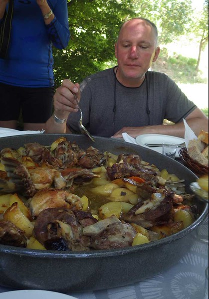 """Our favorite was a traditional """"peka"""" lunch:  lamb, chicken, potatoes and other vegetables slow-cooked """"under the bell.""""   This wonderful lunch was prepared for us by ....."""