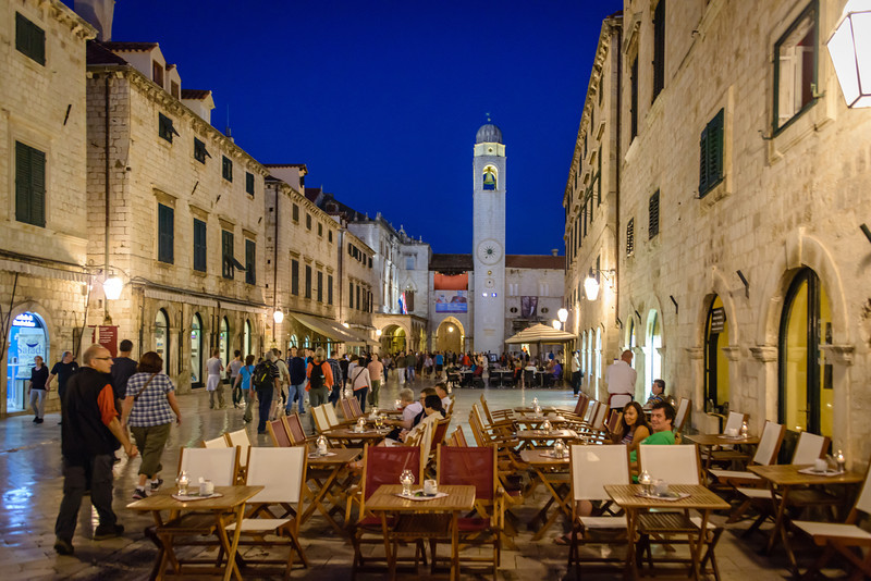 On the Stradum, Old Town Dubrovnik