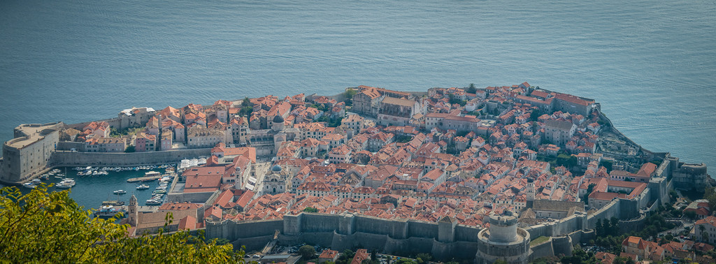 Panorama view of Old Town