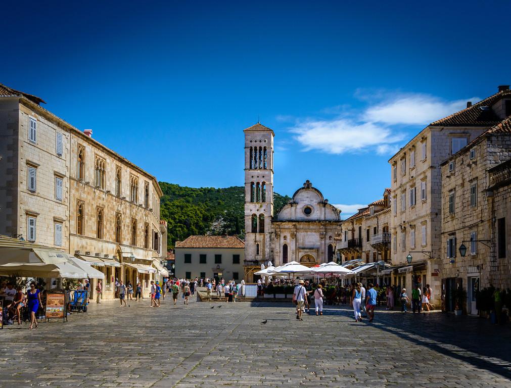 St. Stephens's Square - Hvar, Croatia