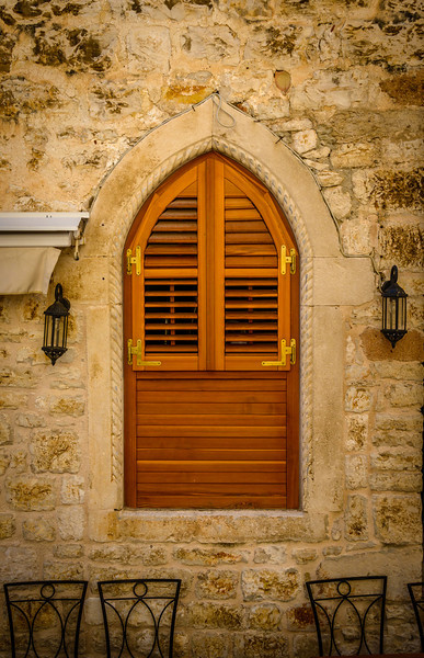 Convent Window - Hvar, Croatia